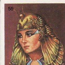 Coleccionismo Cromos antiguos: ORTIZ-- PAREJAS FAMOSAS -- Nº 55 CLEOPATRA. Lote 33057433