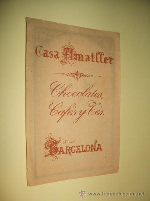 Coleccionismo Cromos antiguos: CROMO SIGLO XIX CHOCOLATES AMATLLER BARCELONA - Foto 2 - 33399612