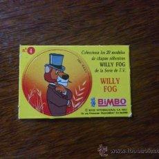 Coleccionismo Cromos antiguos: CROMO BIMBO WILLY FOG. Lote 33436209