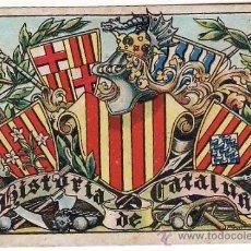 Coleccionismo Cromos antiguos: CHOCOLATES JUNCOSA -- HISTORIA DE CATALUÑA -- MIRA LISTADO DISPONIBLES. Lote 33455162