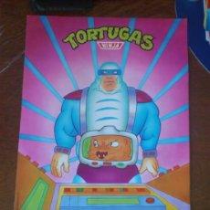 Coleccionismo Cromos antiguos: POSTER TORTUGAS NINJA MATUTANO CRANC. Lote 34200998