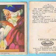 Coleccionismo Cromos antiguos: CROMOS SUELTOS. MAGIA BLANCA. CHOCOLATE CHOCOLATES AMATLLER.. Lote 34290545