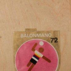 Coleccionismo Cromos antiguos: BIMBO - JUEGOS OLIMPICOS 1972. BALONMANO. MUY RARO. Lote 34412744