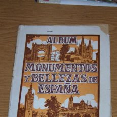 Coleccionismo Cromos antiguos: MONUMENTOS Y BELLEZAS DE ESPAÑA DE CASULLERAS CROMOS SUELTOS 0,90. Lote 42215664