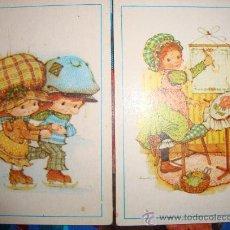Coleccionismo Cromos antiguos: LOTE 2 CROMOS ALBUM DIAS FELICES DE FHER Nº 31 Y 73 BONNIE BONET ....1981 NUEVOS. Lote 34788051