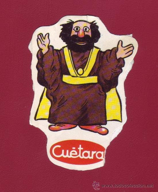CUÉTARA - LOS AURONES - UN CROMO (Coleccionismo - Cromos y Álbumes - Cromos Antiguos)