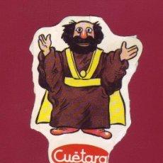 Coleccionismo Cromos antiguos: CUÉTARA - LOS AURONES - UN CROMO. Lote 34881960