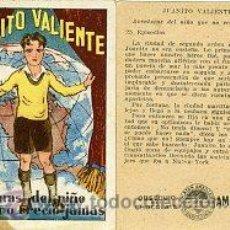 Coleccionismo Cromos antiguos: CHOCOLATES AMATLLER.- 'JUANITO VALIENTE' COLECCION COMPLETA DE 25 CROMOS.. Lote 34902186