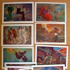 Coleccionismo Cromos antiguos: 12 CROMOS RELIGIOSOS. Lote 35119412