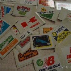 Coleccionismo Cromos antiguos: LOTE 23 CROMOS ADHESIVOS BOLLYCAO, IBERIA, RENFE, MISTRAL,DONUTS,DERBI, IBERIA,CAMEL,ETC. Lote 35242709