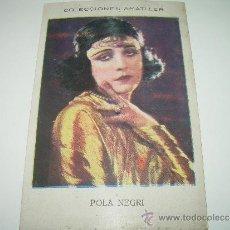 Coleccionismo Cromos antiguos: CROMO ...CHOCOLATE AMATLLER.. Lote 35502103
