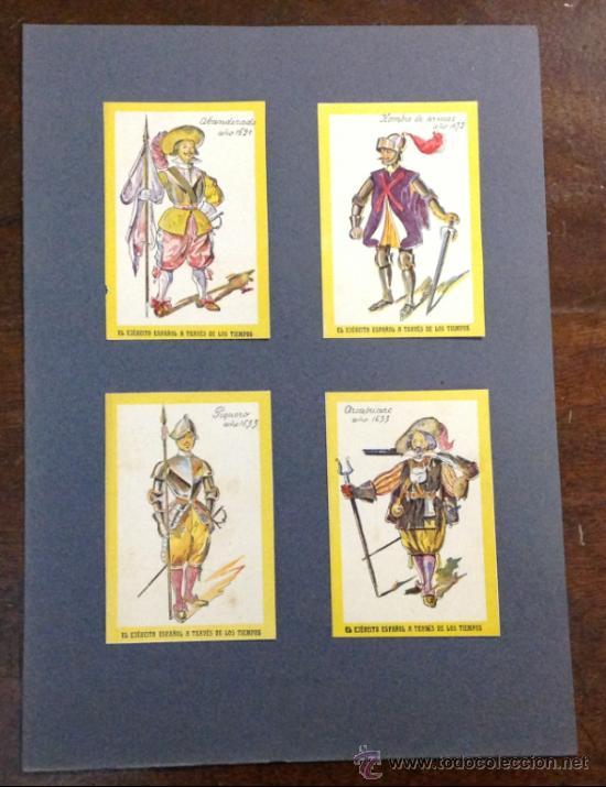 Coleccionismo Cromos antiguos: 20 CROMOS. EL EJÉRCITO ESPAÑOL A TRAVÉS DE LOS TIEMPOS. Desde 1503 hasta 1690. - Foto 5 - 35754878