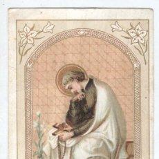 Coleccionismo Cromos antiguos: BONITO CROMO- ESTAMPA -CHOCOLATE JUNCOSA - RELIGIOSO SAN LUIS GONZAGA. Lote 35835203