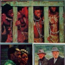 Coleccionismo Cromos antiguos: 4 CROMOS ALBUM TELE-STARS 1978 EDICIONES ESTE-SERIE TELEVISIÓN RAICES-104-105-106-109. Lote 36252224