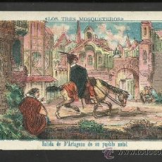 Coleccionismo Cromos antiguos: LOS TRES MOSQUETEROS - COL. COMPLETA 30 CROMOS - VER FOTOS - (CR-150). Lote 36259045