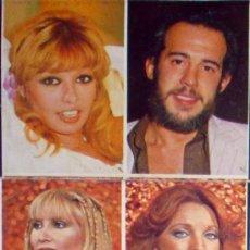 Coleccionismo Cromos antiguos: 2 CROMOS 110-111 ISABEL BORONDO- FRADEJAS-ISABEL LUQUE-MARÍA SALERNO-APLAUSO TELE-STARS 1978. Lote 36261438