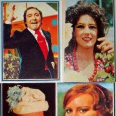 Coleccionismo Cromos antiguos: 3 CROMOS TELE-STARS 1978 Nº 122-125-127 FERNANDO ESTESO-BEATRIZ CARBAJAL-TORREBRUNO-PAULA GARDOQUE. Lote 36274916