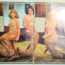 Coleccionismo Cromos antiguos: 2 CROMOS ALBUM TELE-STARS 1978 EDICIONES ESTE-SECCIÓN VOCES FAMOSAS TRIO ACUARIO Nº 139-140. Lote 36280682
