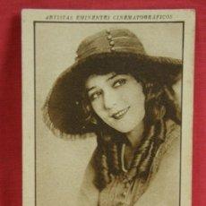 Coleccionismo Cromos antiguos: CROMO Nº 8 SERIE VI MARY PICKFORD ARTISTAS EMINENTES CINEMATOGRÁFICOS AÑOS 20 CON PUBLICIDAD. Lote 36370494