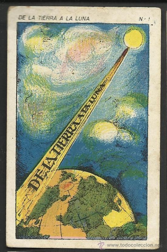 DE LA TIERRA A LA LUNA - COL. COMPLETA 42 CROMOS - VER FOTOS ADICIONALES - (CR-181) (Coleccionismo - Cromos y Álbumes - Cromos Antiguos)