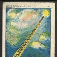 Coleccionismo Cromos antiguos: DE LA TIERRA A LA LUNA - COL. COMPLETA 42 CROMOS - VER FOTOS ADICIONALES - (CR-181). Lote 36473368