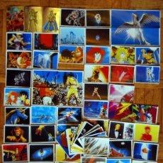 Coleccionismo Cromos antiguos: 111 CROMOS DE LOS CABALLEROS DEL ZODIACO DE PANINI CROMO DE LA COLECCION DEL ALBUM. Lote 36922077