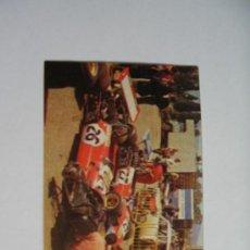 Coleccionismo Cromos antiguos: EL MUNDO DEL AUTOMOVIL BIMBO 1976 CROMO Nº 75 ¿QUÉ ES UN PADDOCK?. Lote 37507065