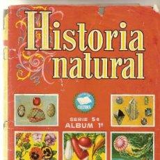 Coleccionismo Cromos antiguos: HISTORIA NATURAL 1º - 102 CROMOS - TAMBIEN SUELTOS. Lote 37540571