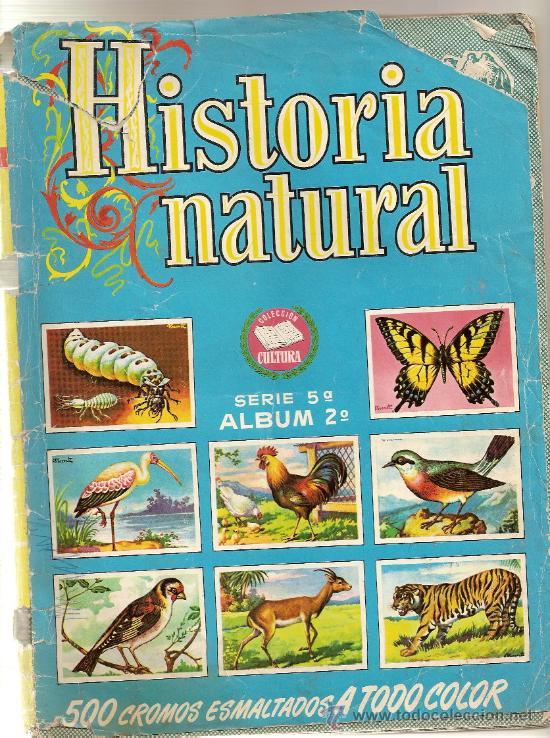 HISTORIA NATURAL 2º - 103 CROMOS - TAMBIEN SUELTOS (Coleccionismo - Cromos y Álbumes - Cromos Antiguos)