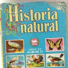 Coleccionismo Cromos antiguos: HISTORIA NATURAL 2º - 103 CROMOS - TAMBIEN SUELTOS. Lote 37540748