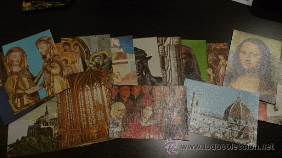 Coleccionismo Cromos antiguos: Colección COMPLETA 144 cromos ARTE UNIVERSAL - CEDIPSA - Foto 6 - 218768765