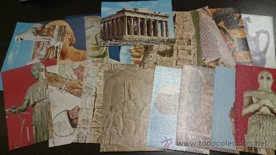 Coleccionismo Cromos antiguos: Colección COMPLETA 144 cromos ARTE UNIVERSAL - CEDIPSA - Foto 3 - 218768772