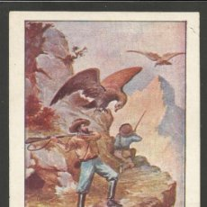 Coleccionismo Cromos antiguos: CAZA Y PESCA - COL. COMPLETA 24 CROMOS - CHOCOLATE AMATLLER - VER FOTOS - (CR- 243). Lote 37648730