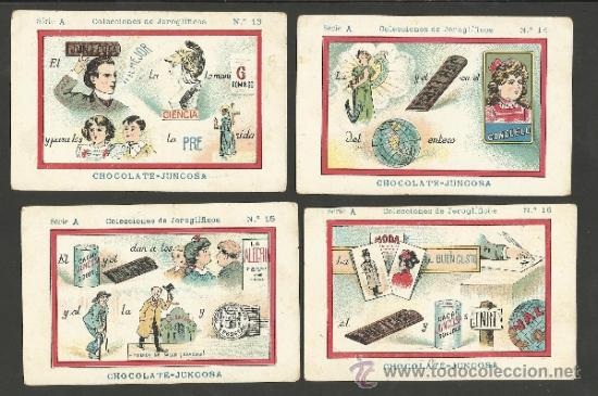 Coleccionismo Cromos antiguos: JEROGLIFICOS - COLEC. COMPLETA 50 CROMOS CHOCOLATE AMATLLER - VER FOTOS - (CR-245) - Foto 5 - 37648788