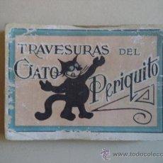 Coleccionismo Cromos antiguos: TRAVESURAS DEL GATO PERIQUITO.CHOCOLATES LA SULTANA. Lote 38584124