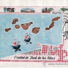 Coleccionismo Cromos antiguos: FIESTAS DEL SANTISIMO CRISTO DEL CALVARIO ICOD DE LOS VINOS TENERIFE 1958. Lote 38673818