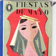 Coleccionismo Cromos antiguos: PROGRAMA FIESTAS DE MAYO SANTA CRUZ DE TENERIFE 1960. Lote 38673919