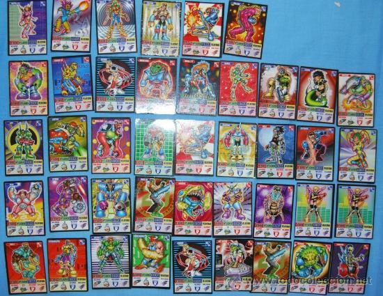 BOLLYCAO KAOS THE GAME 42 PIEZAS + PIRAMIDE DEL PODER (Coleccionismo - Cromos y Álbumes - Cromos Antiguos)