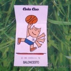 Coleccionismo Cromos antiguos: CROMO COLA CAO - COBI. (COLACAO) NO PHOSKITOS, BOLLYCAO, BIMBO O MATUTANO. Lote 38985841