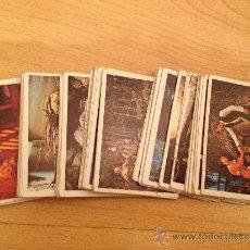 Coleccionismo Cromos antiguos: ALBUM EL RETORNO DEL JEDI- CROMOS DE PACOSA 2 / INTERNACIONAL (LOTE DE13 CROMOS). Lote 49924612
