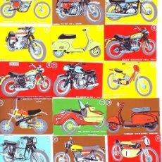 Coleccionismo Cromos antiguos: LOTE MOTOS MODERNAS LOTE 20 CROMOS RECORTADOS - CROPAN. Lote 39115035