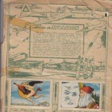 Coleccionismo Cromos antiguos: ALBUM AVIACIÓN 1900 - 1950. CLIPER 1952. 224 CROMOS EN UN ALBUM FACIL DE DESPEGAR.. Lote 39562667