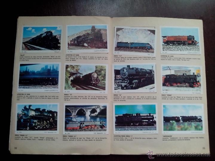 Coleccionismo Cromos antiguos: BARCOS Y TRENES. COMPLETO. LLEVA POSTER INTERIOR COMPLETO - Foto 4 - 39648463
