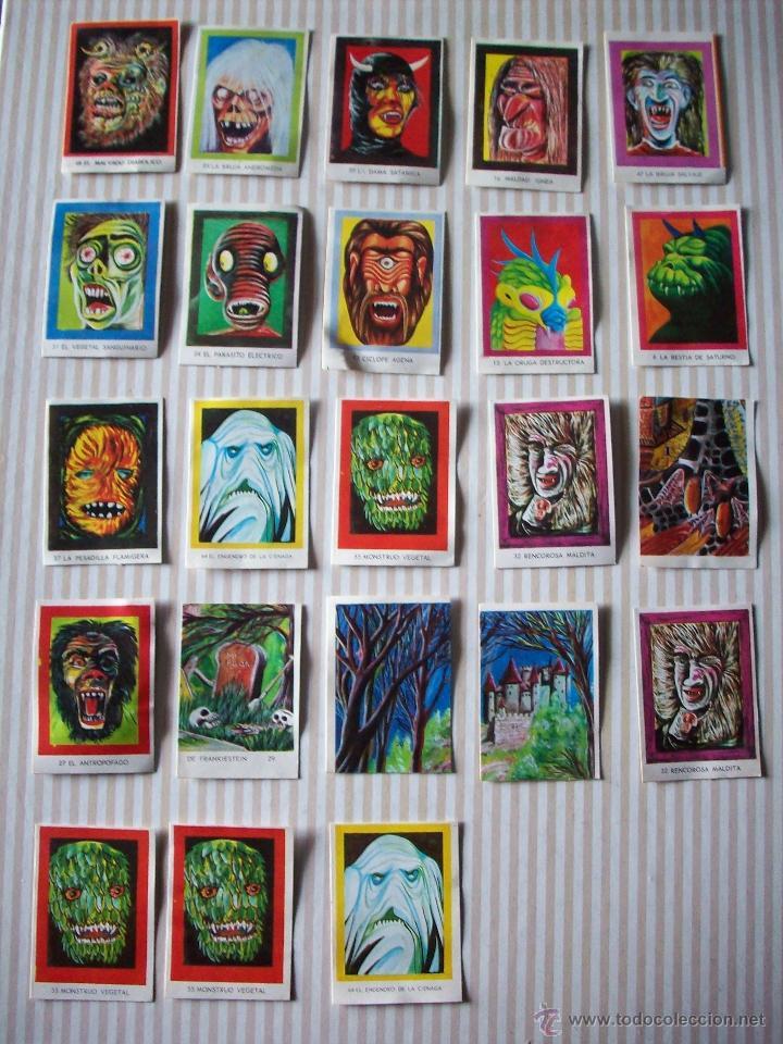 lote de 23 cromos carnaval de monstruos a os 70 comprar