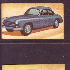 Coleccionismo Cromos antiguos: ED. FHER AÑO 1958.AUTOMOVILES.LOTE 3 CROMOS:NR.42,61,68.POR SEPARADO A 0,35 EUROS.. Lote 39959761