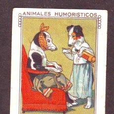 Coleccionismo Cromos antiguos: NESTLE AÑO 1930.SERIE 32.CROMO NR.6.ANIMALES HUMORISTICOS.. Lote 39959814