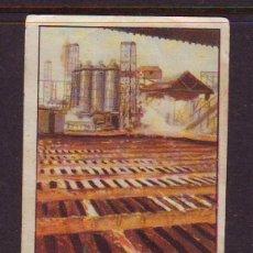 Coleccionismo Cromos antiguos: CROMO Nº 1,SERIE 15,PRIMER ALBUM GALLINA BLANCA,AÑOS 1940.FABRICACION DEL ACERO.. Lote 39960864