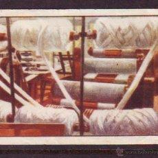 Coleccionismo Cromos antiguos: CROMO Nº 7,SERIE 12,PRIMER ALBUM GALLINA BLANCA,AÑOS 1940.LANA.ALISADORA.. Lote 39960958
