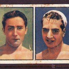 Coleccionismo Cromos antiguos: CROMO NR.10 NATACION,SERIE 118,SEGUNDO ALBUM GALLINA BLANCA,AÑOS 1940.GONZALES-CASOLIBA.. Lote 39961250