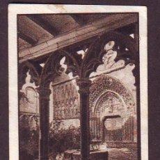 Coleccionismo Cromos antiguos: CROMO NR.8,SERIE 51,SEGUNDO ALBUM GALLINA BLANCA,AÑOS 1940.CLAUSTROS.CASTILLO DE DOÑA BLANCA OLITE.. Lote 39961383